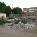 Снос гаражей в Ашхабаде