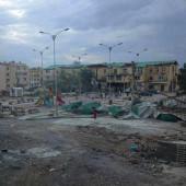 Ураган в Туркменистане (фото)