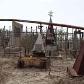 Заброшенное кладбище в Небитдаге