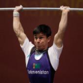 Туркменский штангист Умурбек Базарбаев уличен в применении допинга