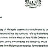 Malaysian Embassy Asks Foreign Ministry to Address Expat Registration