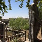 Мары: Статую Неизвестного солдата перенесли на русское кладбище