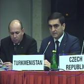 Официальная делегация Туркменистана прибыла на Совещание по человеческому измерению