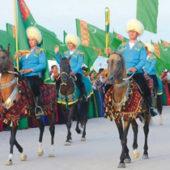 Два человека умерли во время церемонии встречиучастников конного пробега в честь Азиады-2017