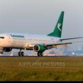 Самолет «Туркменских авиалиний» арестован в Париже за долги компании