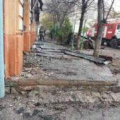Две квартиры выгорели полностью в результате пожара в Дашогузе