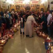 Ашхабад: Православные христиане отметили праздник Светлого Христова Воскресения