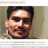 «Свободу Гаспару Маталаеву!» — Freedom United запустила кампанию за освобождение туркменского активиста