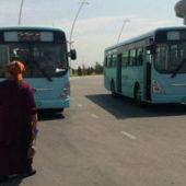 Автобусы б/у пополнили автопарки велаятов