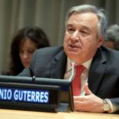 Генсек ООН Антониу Гутерриш совершит поездку по странам Центральной Азии