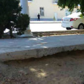 Ашхабад: Некогда утопавший в зелени город «тонет» в бетоне (фото)