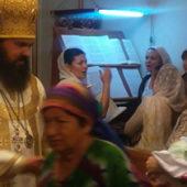В Туркменистан приехал архиепископ Феофилакт (фото)