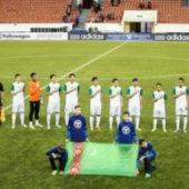 Сборная Туркменистана по футболу поднялась в рейтинге ФИФА