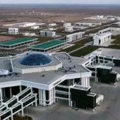 Туркменабад: К приезду президента из районов привезли тысячи людей для массовки