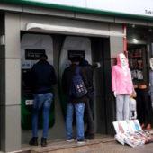 Стамбул: «Туркменские» банкоматы опустели