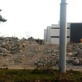В Ашхабаде снесено здание «Сенагат» банка