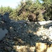 В Ашхабаде снесено здание старой ковровой фабрики